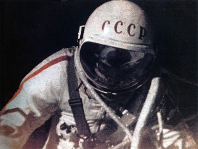 First Spacewalk Alexei Leonov