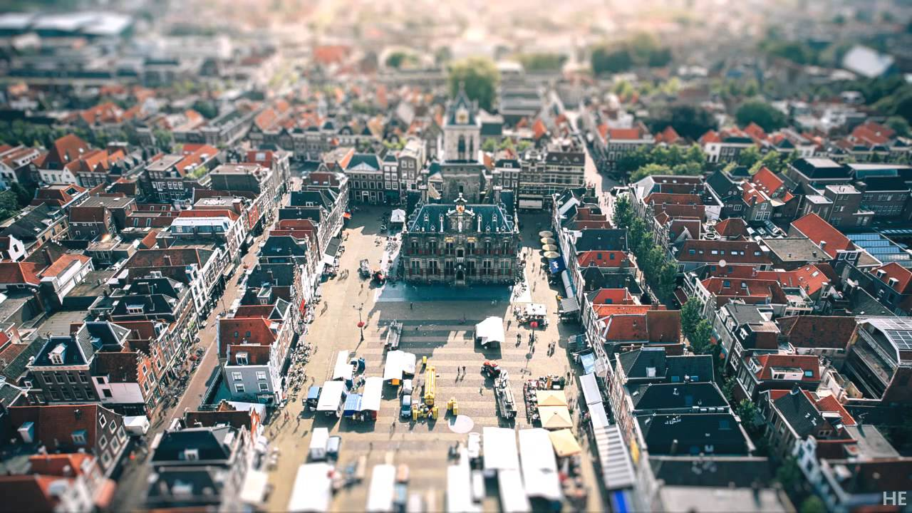 '7685 Frames of Netherlands', A Charming Tilt-Shift Time-Lapse Video of Dutch Cities
