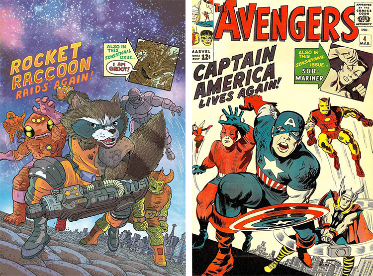 Marvel to Release Variant Homage Comic Book Covers Featuring