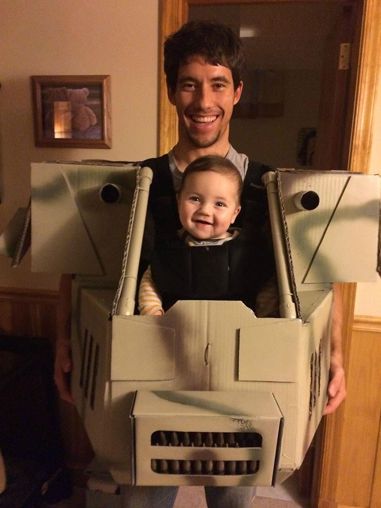 Father and Son MechWarrior