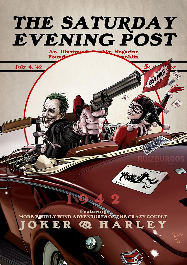 Joker and Harley 1942
