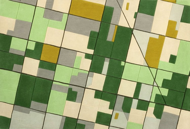 Landcarpet Map Rugs by Florian Pucher