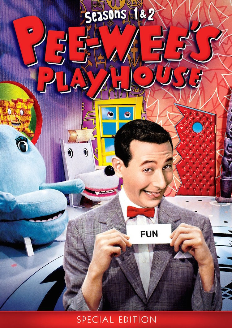 Pee Wee's Playhouse DVD