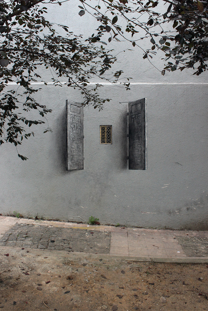 3D Illusion Street Art by Pejac