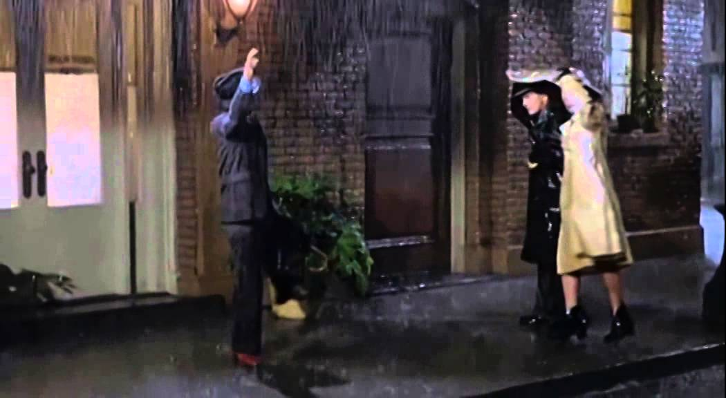 A Musicless Version of Gene Kelly's Classic Scene From 'Singin' in the Rain' (1952) Without the Singing