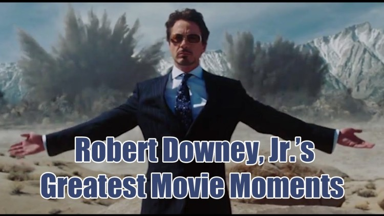 A Supercut Featuring Some of Robert Downey, Jr.'s Greatest Movie Moments