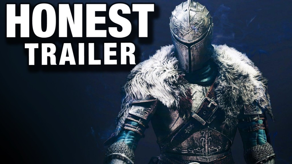 An Honest Video Game Trailer for 'Dark Souls'