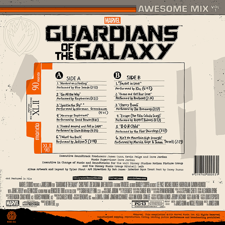 Mondo To Release The Guardians Of The Galaxy Awesome Mix