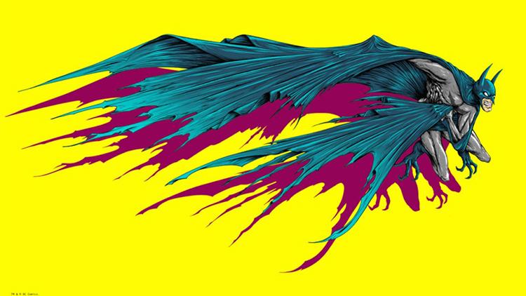 Batman / Man Bat by Alex Pardee