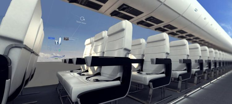 Windowless Aircraft Concept