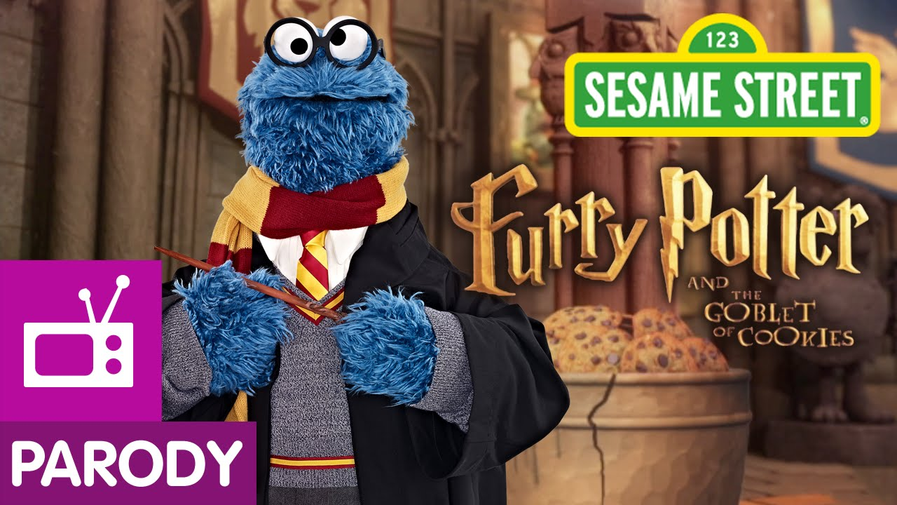 'Furry Potter and The Goblet of Cookies', A 'Sesame Street' Parody of the 'Harry Potter' Series
