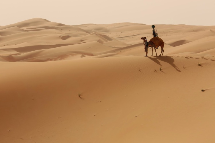 Google Maps Liwa Desert