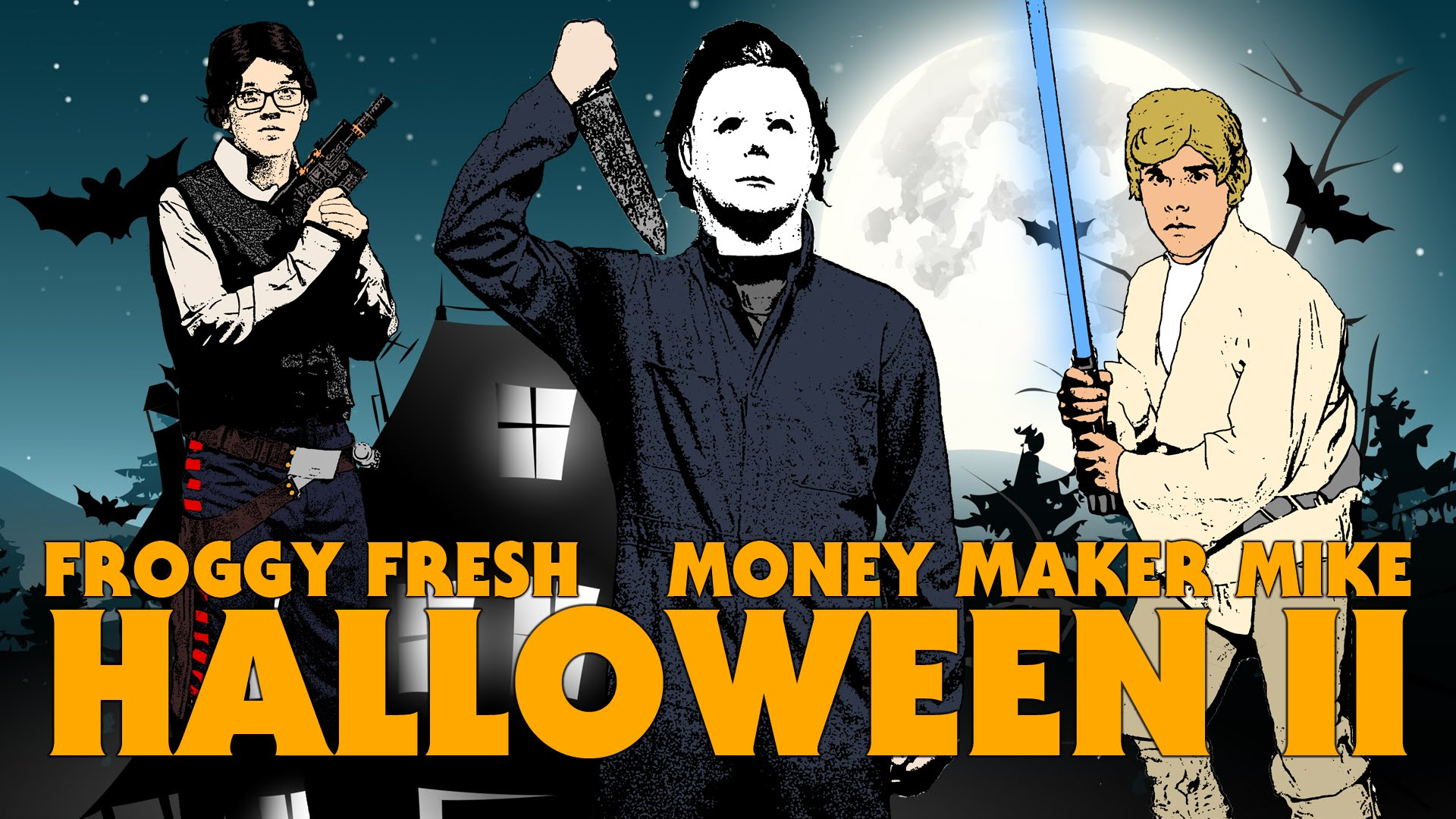 halloween ii a music video by rapper froggy fresh about confronting his fears and getting candy - Halloween 2 Music