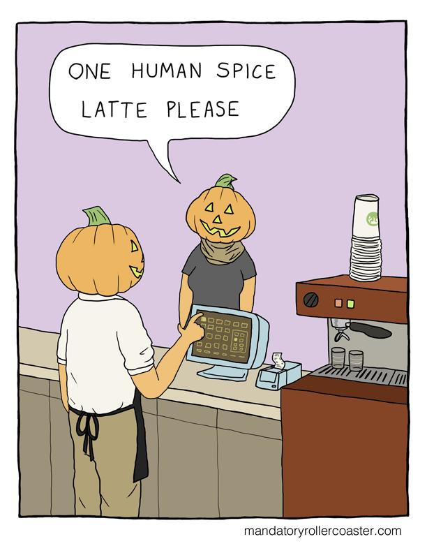 Human Spice Latte