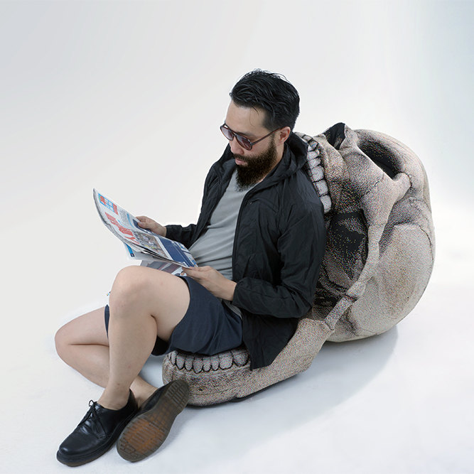 The Skull Chair by Chic Sin Design