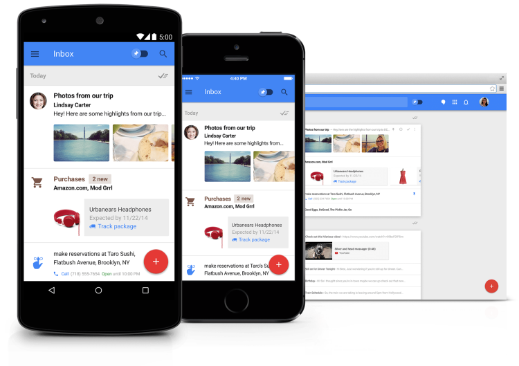 Google Introduces Inbox, A New Email System With Enhanced Features Compared to Gmail