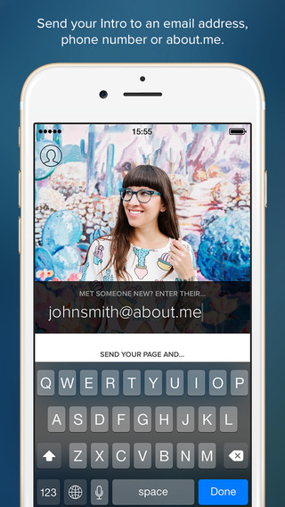 About.Me Launches Intro, An App That Functions as a Simple Digital Business Card