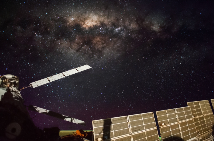 iss milky way