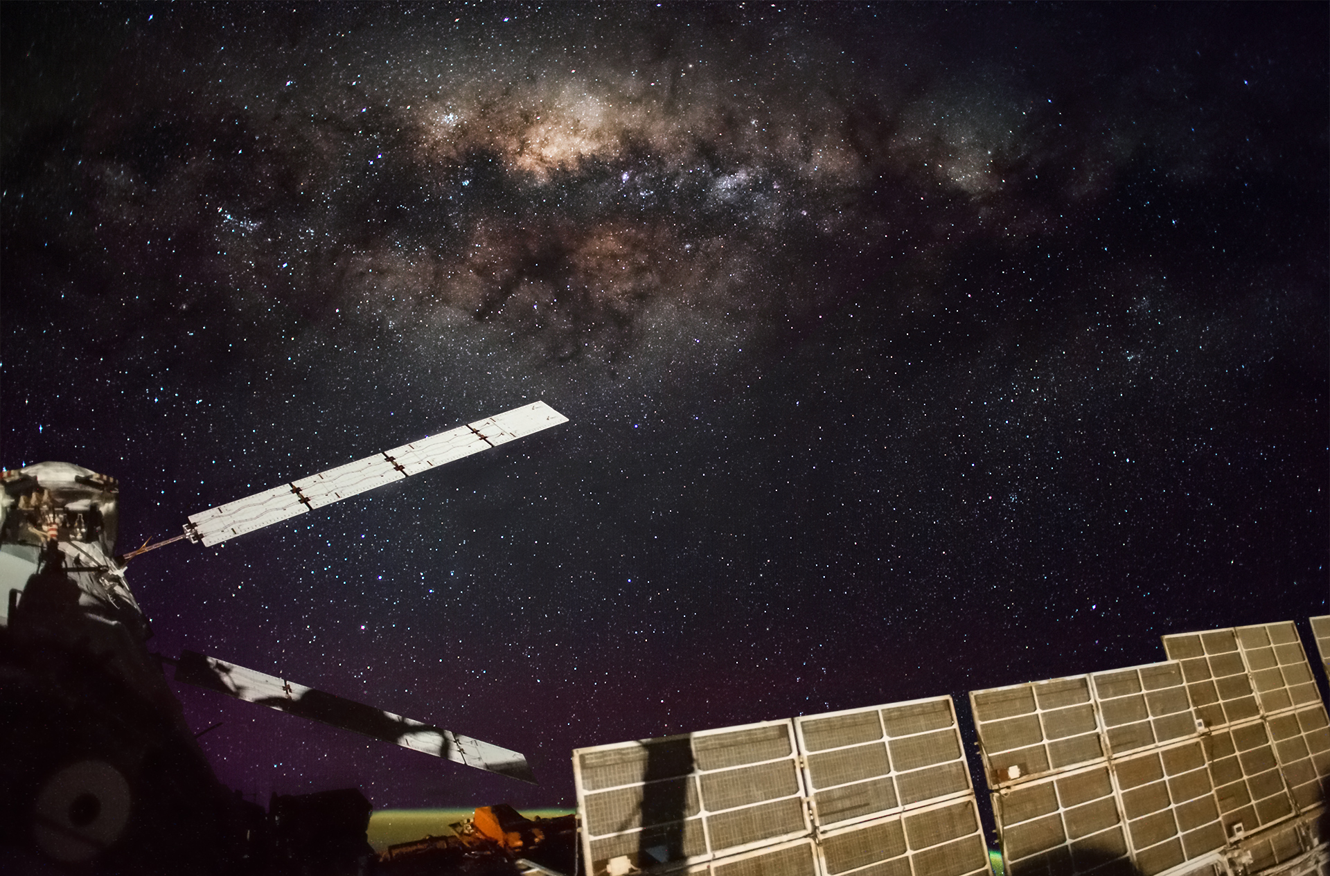 A Beautiful Time-Lapse Video of the Milky Way Galaxy From the International Space Station