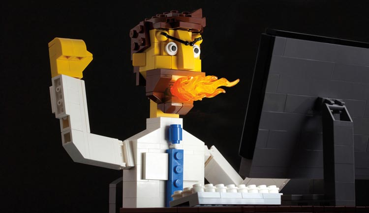 Beautiful LEGO 2: Dark by Mike Doyle