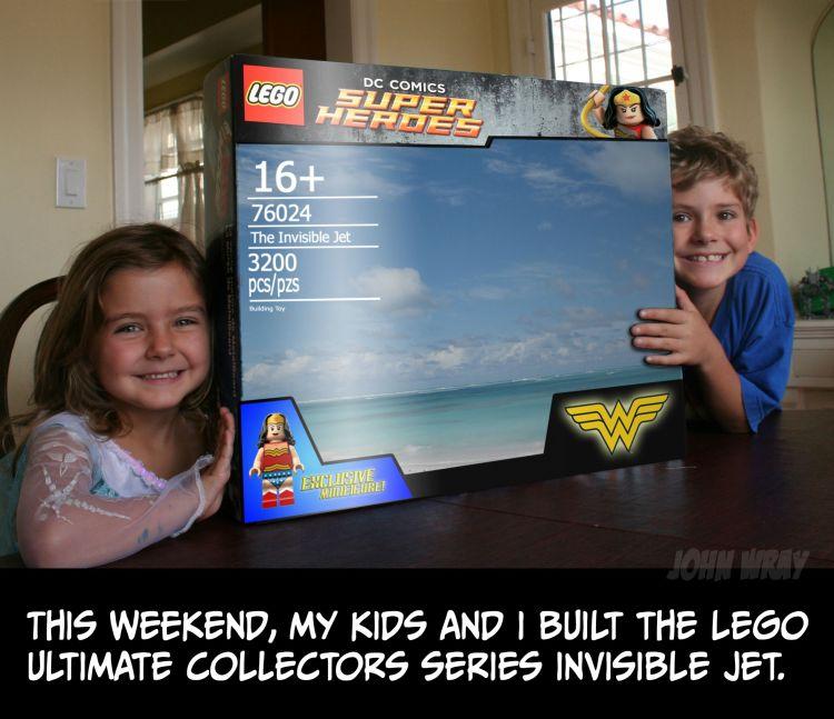 LEGO Wonder Woman Jet