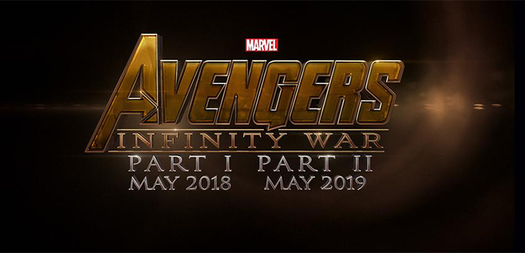 Avengers: Infinity War Part 1 and 2