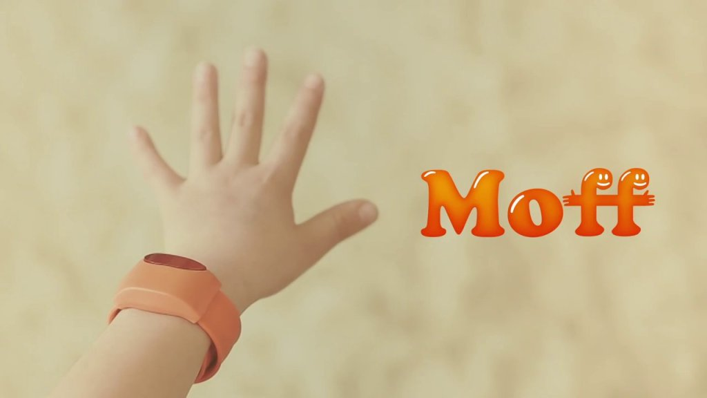 Moff, A Toy Wristband That Makes Sounds in Different Themes as the Wearer Moves