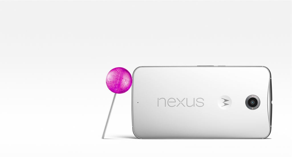 Google Announces the Nexus 6 Smartphone Running Android 5.0 Lollipop