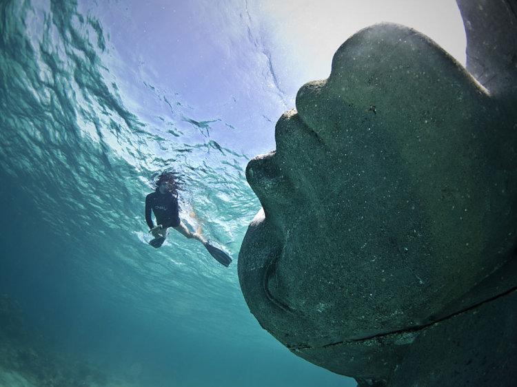 Ocean Atlas by Jason DeCaires Taylor