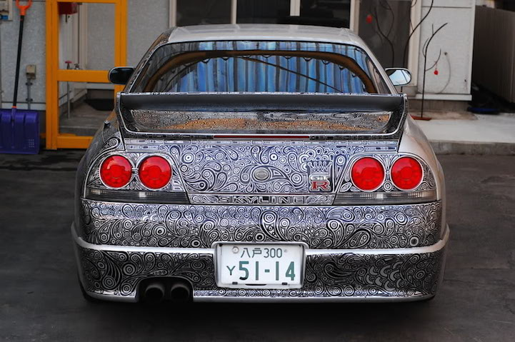 Marker Art Skyline GT-R