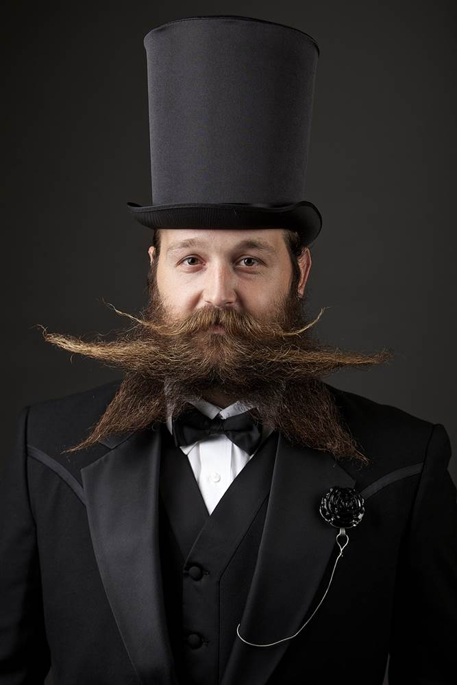 Top hat and a top beard
