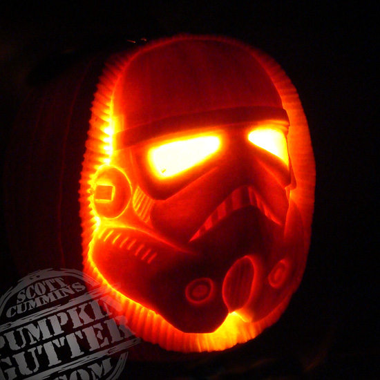 Pumpkin Carvings by Scott Cummins
