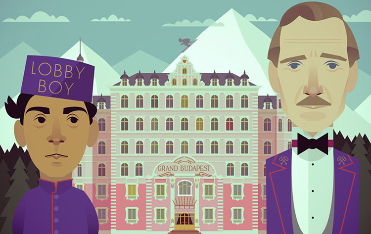The Grand Budapest Hotel by Stanley Chow