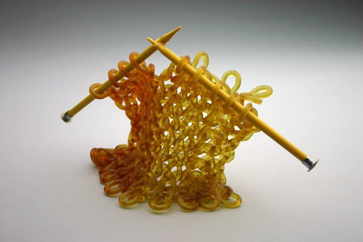 Knitted Glass Sculptures by Carol Milne
