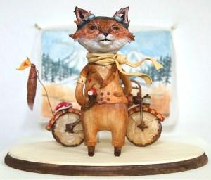 Mr. Fox and His Bike by Maryanna Hoggatt