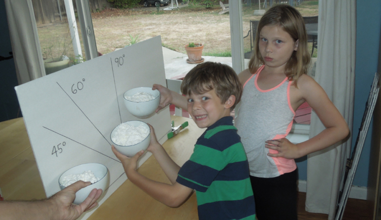 Whipped Cream Experiment
