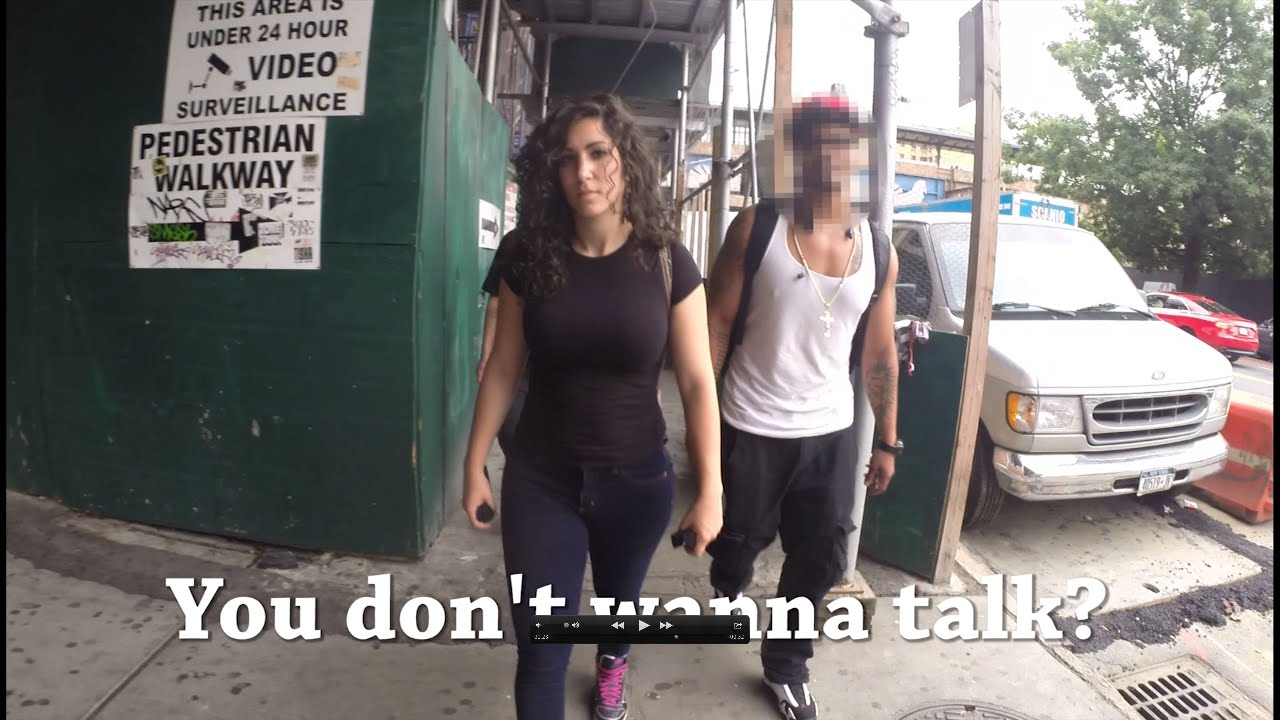 Woman Walks Silently with Hidden Camera Through New York City Streets to Capture What's Being Said to Her