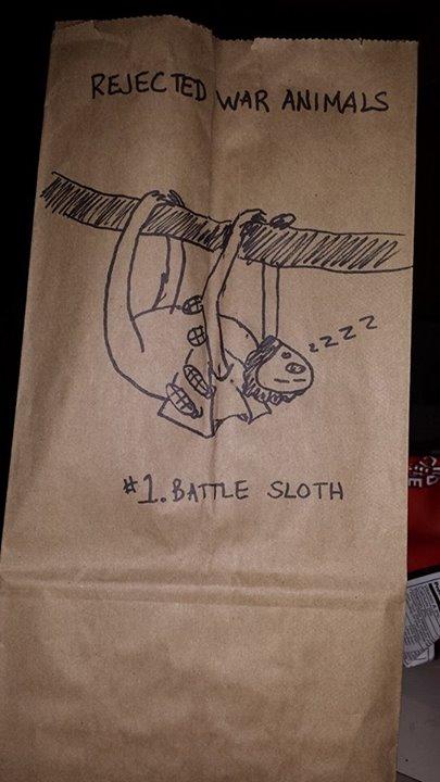 Lunchbag Art