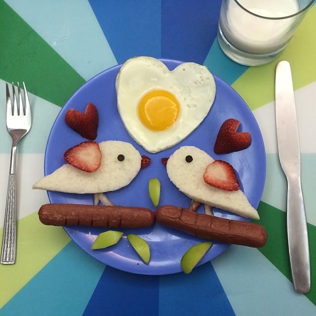 Creative Sunny Side Up Eggs