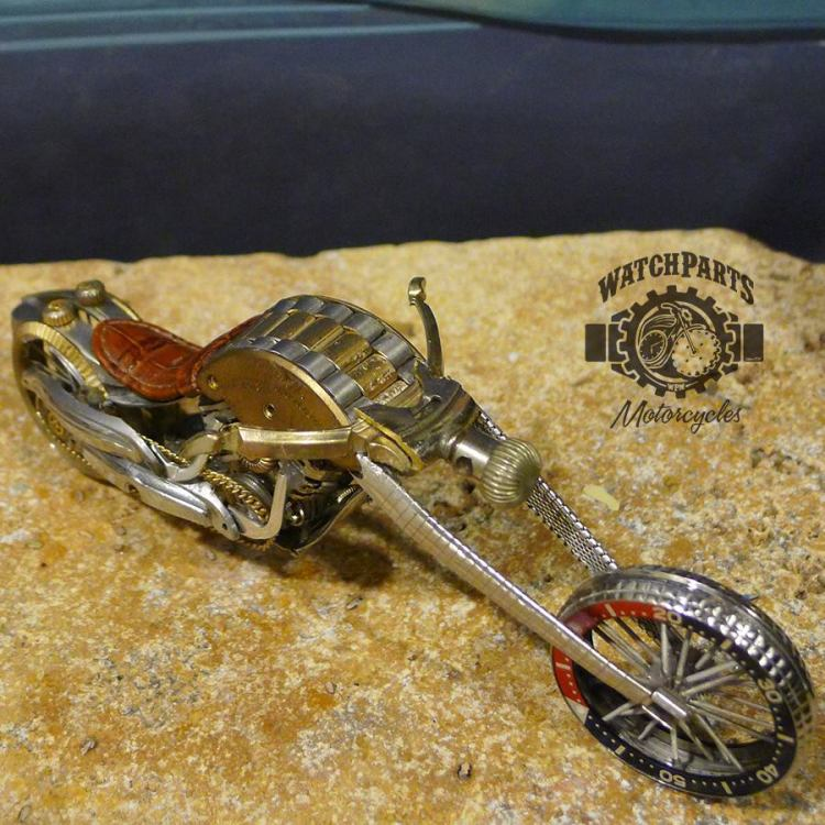 Vintage Watch Part Motorcycles by Dan Tanenbaum