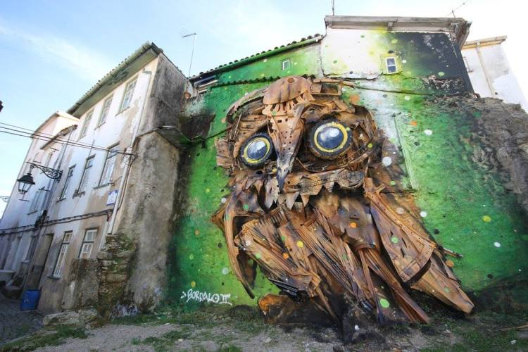 Owl Eyes by Artur Bordalo
