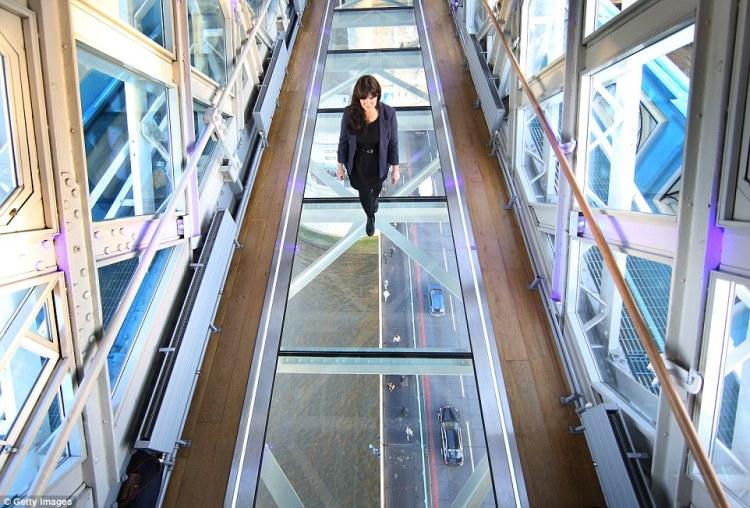 New Glass Floor at London Tower Bridge