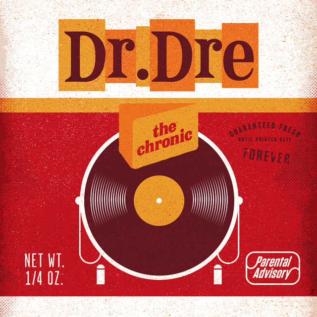 Dr. Dre - The Chronic by Jay Fletcher