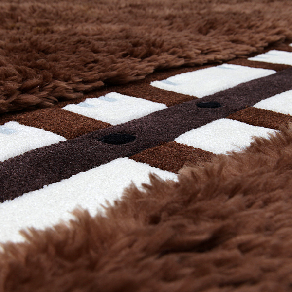 A Furry Chewbacca Rug Complete With