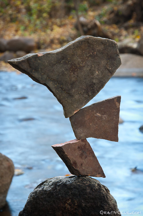 Balanced Stone Sculptures by Michael Grab
