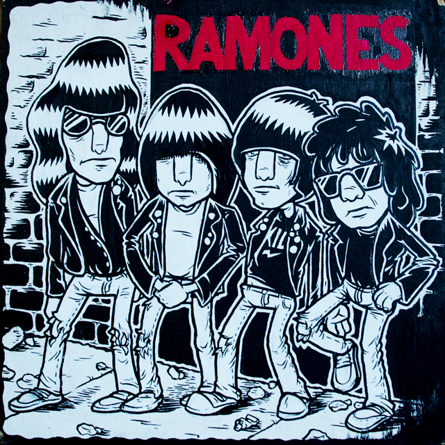 The Ramones - Rocket To Russia by Niklas Coskan