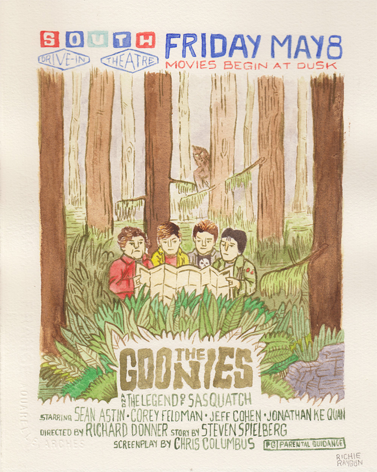 The Goonies and the Legend of Sasquatch by Rich Rayburn