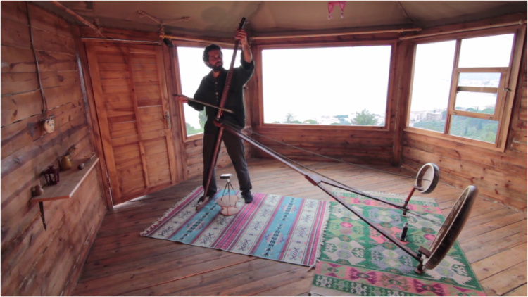 Yaybahar Acoustic Instrument