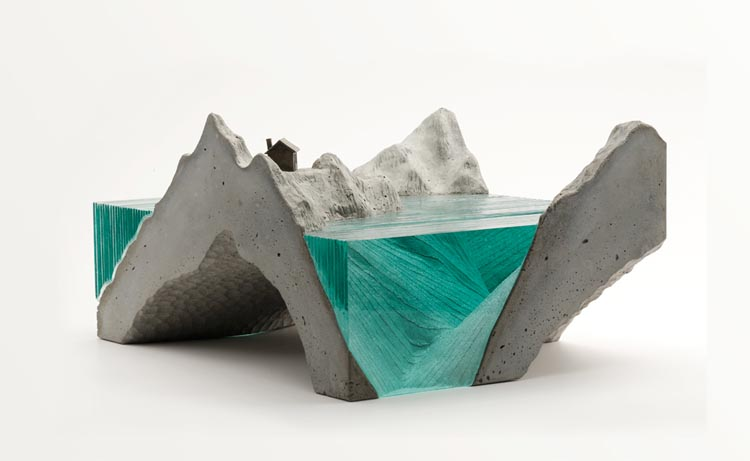 More Gorgeous Layered Glass Sculptures of Seascapes by Ben Young