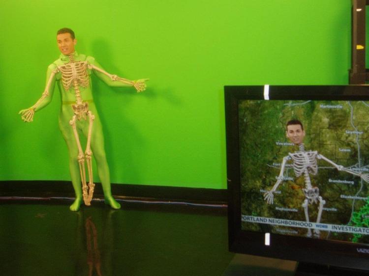 Bones Redfield Skeleton Meteorologist